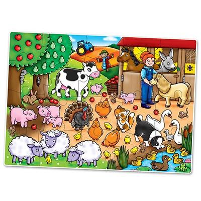 who s on the farm jigsaw