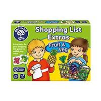 Shopping List Extras - Fruit & Veg