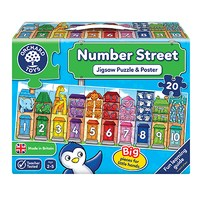 Number Street Jigsaw Puzzle