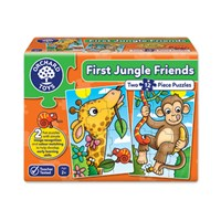 First Jungle Friends Jigsaw Puzzles