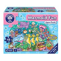 Mermaid Fun Jigsaw Puzzle