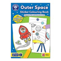 Outer Space Colouring Book   With Stickers