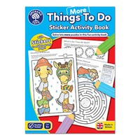More Things To Do Colouring Book   With Stickers