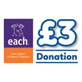 £3 EACH Donation