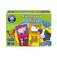 Farmyard Dominoes Game