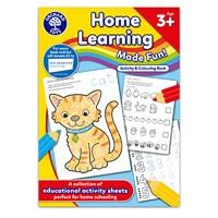 Home Learning Made Fun - Age 3+   Activity and Colouring Book