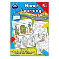 Home Learning Made Fun - Age 5+   Activity and Colouring Book