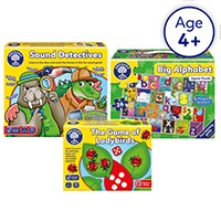 KS1 Home Learning Pack 5 | Three Game Bundle