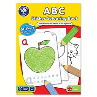ABC Colouring Book | With Stickers