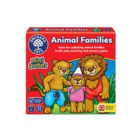 Orchard Toys Animal Families Mini Travel Game