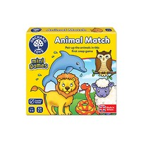 Orchard Toys Animal Match Mini Travel Game