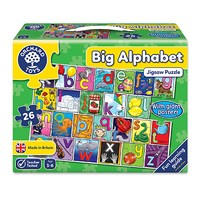 Big Alphabet Jigsaw Puzzle