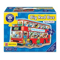 Big Red Bus Jigsaw Puzzle
