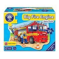 Big Fire Engine Jigsaw Puzzle