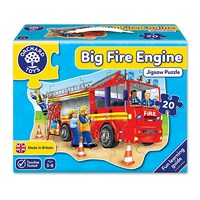 Big Fire Engine Jigsaw Puzzle   Orchard Toys