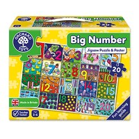 Big Number Jigsaw Puzzle
