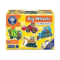 Big Wheels Jigsaw Puzzle