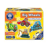 Big Wheels Jigsaw Puzzle