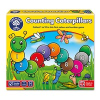 Counting Caterpillars Game