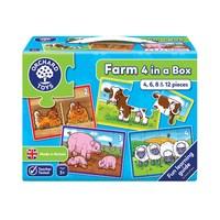 Farm Four in a Box Jigsaw