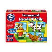 Farmyard Heads and Tails Game