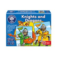 Knights and Dragons Game | Orchard Toys