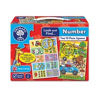 Look and Find... Number Jigsaw