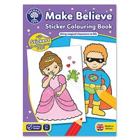 Make Believe Colouring Book   With Stickers