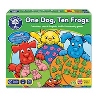 Orchard Toys One Dog Ten Frogs Counting Game