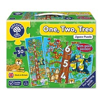 One, Two, Tree Jigsaw Puzzle