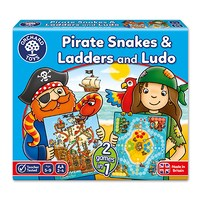 Pirate Snakes and Ladders & Ludo Board Game