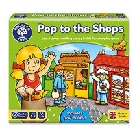 Pop to the Shops Board Game