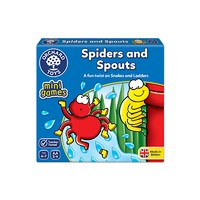 Orchard Toys Spiders and Spouts Mini Travel Game