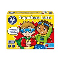 Superhero Lotto Game