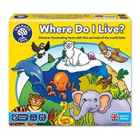 Where Do I Live Game