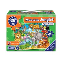 Who's in the Jungle Jigsaw