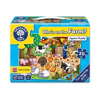 Who's on the Farm Jigsaw