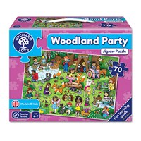 Woodland Party Jigsaw Puzzle