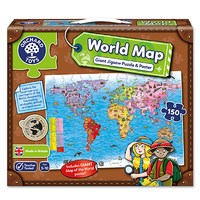 World Map Puzzle & Poster