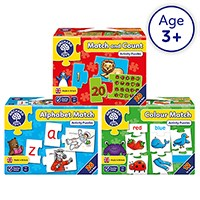 Preschool Pack 5   Learn At Home Jigsaw Puzzles