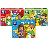 Shopping List and Extras Packs