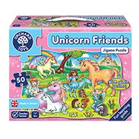 Unicorn Friends Jigsaw Puzzle