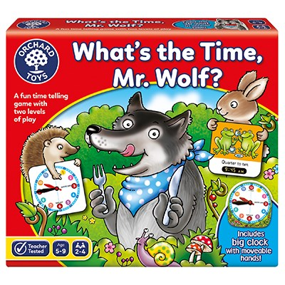 What's the Time, Mr Wolf Game