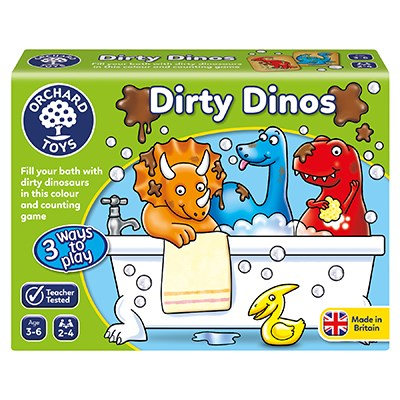 Dirty Dinos Game