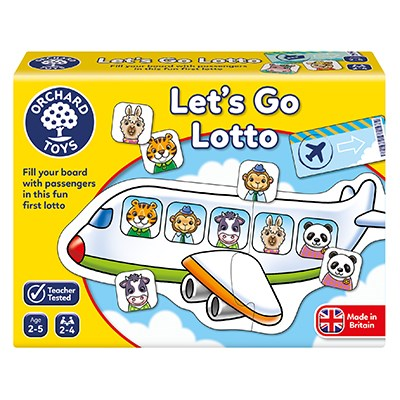 Let's Go Lotto Game