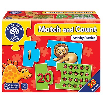 Match and Count Jigsaw Puzzle