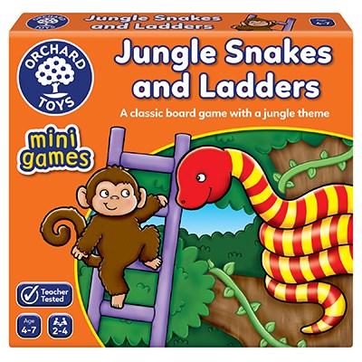 Jungle Snakes & Ladders Mini Game