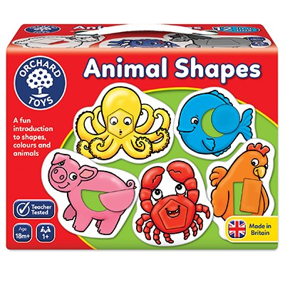 Animal Shapes Game