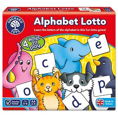 Alphabet Lotto Game