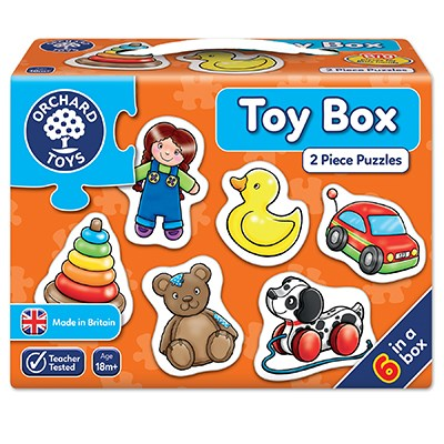 Toy Box Jigsaw Puzzle
